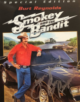"""Burt Reynolds, Jerry Reed & Sally Fields Signed """"Smokey and the Bandit"""" 16x30 Custom Framed Photo Display (JSA COA) at PristineAuction.com"""