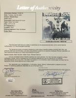 "Michael ""Mike D"" Diamond, Adam ""Ad-Rock"" Horovitz & Adam ""MCA"" Yauch Signed ""Beastie Boys"" 25x31 Custom Framed CD & Photo Display (JSA LOA) at PristineAuction.com"