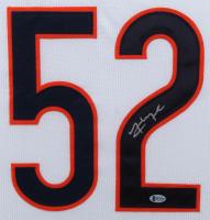 Khalil Mack Signed 35x43 Custom Framed Jersey (Beckett COA) at PristineAuction.com