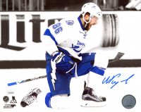 Nikita Kucherov Signed Lightning 8x10 Photo (JSA COA) at PristineAuction.com