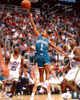 Muggsy Bogues Signed Hornets 8x10 Photo (JSA COA) at PristineAuction.com