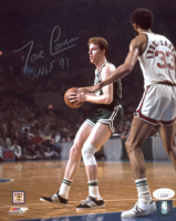 "Dave Cowens Signed Celtics 8x10 Photo Inscribed ""HOF 91"" (JSA COA) at PristineAuction.com"