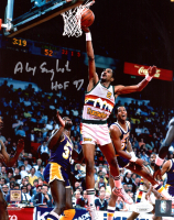 "Alex English Signed Nuggets 8x10 Photo Inscribed ""HOF 97"" (JSA COA) at PristineAuction.com"