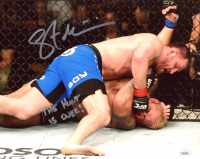 "Stipe Miocic Signed UFC 8x10 Photo Inscribed ""The Hunt is Over"" (JSA COA) at PristineAuction.com"
