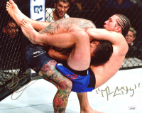 "Brian Ortega Signed UFC 8x10 Photo Inscribed ""T-City"" (JSA COA) at PristineAuction.com"