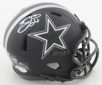 Emmitt Smith Signed Cowboys Eclipse Alternate Speed Mini-Helmet (Beckett COA & Prova Hologram) at PristineAuction.com