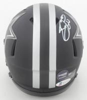 Emmitt Smith Signed Cowboys Eclipse Alternate Speed Mini-Helmet (Beckett COA & Prova Hologram) at PristineAuction.com