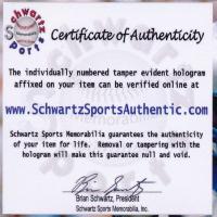 "Bobby Hull Signed Blackhawks Logo Hockey Stick Inscribed ""HOF 1983"" (Schwartz COA) at PristineAuction.com"