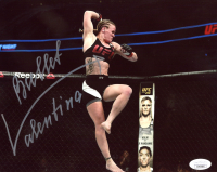 """Bullet"" Valentina Shevchenko Signed UFC 8x10 Photo (JSA COA) at PristineAuction.com"