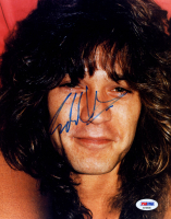Eddie Van Halen Signed 8x10 Photo (PSA COA) at PristineAuction.com