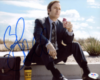 """Bob Odenkirk Signed """"Better Call Saul"""" 8x10 Photo (PSA COA) at PristineAuction.com"""