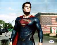 """Henry Cavill Signed """"Man of Steel"""" 8x10 Photo (PSA COA) at PristineAuction.com"""