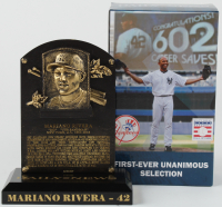 Mariano Rivera Commemorative Yankee Stadium Game Promotion Only Hall of Fame Plaque at PristineAuction.com