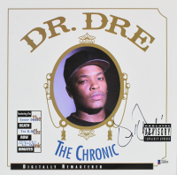 """Dr. Dre Signed """"The Chronic"""" Vinyl Record Album (Beckett LOA) at PristineAuction.com"""