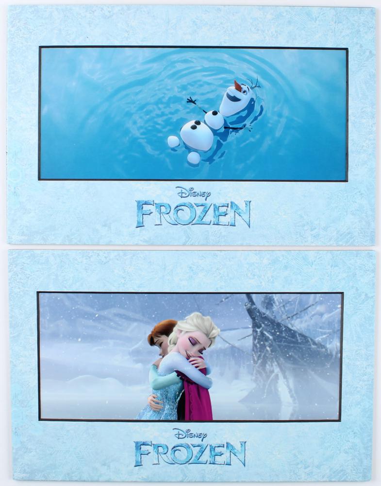 "Set of (2) Disney ""Frozen"" 11x17 Lithographs at PristineAuction.com"