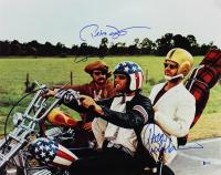 "Jack Nicholson, Peter Fonda, & Dennis Hopper Signed ""Easy Rider"" 26.5x31 Custom Framed Photo Display (Beckett LOA) at PristineAuction.com"