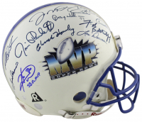 Super Bowl MVP Authentic On-Field Helmet Signed by (24) with Bart Starr, Larry Csonka, Troy Aikman, Terry Bradshaw, Randy White, Jerry Rice, Joe Montana, Emmitt Smith (JSA COA) at PristineAuction.com