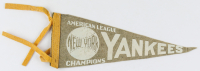 Vintage 1940's Yankees Mini-Pennant at PristineAuction.com