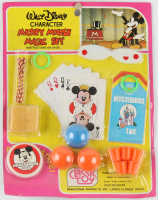 """Vintage 1975 Walt Disney """"Mickey Mouse"""" Character Magic Set with Vintage Mickey Mouse Club Pin at PristineAuction.com"""