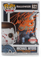 "Tony Moran Signed Special Edition ""Halloween"" Michael Myers #622 Funko Pop! Vinyl Figure Inscribed ""H1"" (Legends Hologram) at PristineAuction.com"