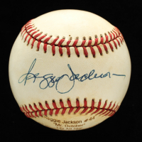 Reggie Jackson Signed LE OAL Career Stat Engraved Baseball (JSA COA) at PristineAuction.com