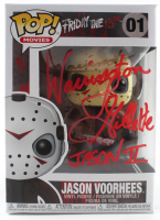 "Warrington Gillette Signed ""Friday The 13th"" #1 Funko Pop! Vinyl Figure Inscribed ""Jason II"" (Legend COA) at PristineAuction.com"