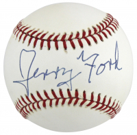 Gerald Ford Signed ONL Baseball (Beckett LOA) at PristineAuction.com