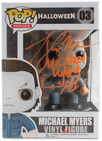 "Tony Moran Signed ""Halloween"" Michael Myers #03 Funko Pop! Vinyl Figure Inscribed ""H1"" (Legends COA) at PristineAuction.com"