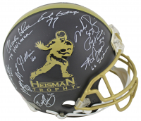 Heisman Trophy Full-Size Authentic On-Field Helmet Signed by (13) with Kyler Murray, Earl Campbell, Tony Dorsett, Joe Bellino (Beckett LOA) at PristineAuction.com
