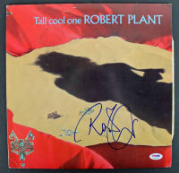 "Robert Plant Signed ""Tall Cool One"" Vinyl Album Cover (PSA COA) at PristineAuction.com"