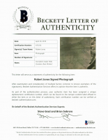 Robert Jones Signed 8x10 Photo (Beckett LOA) at PristineAuction.com