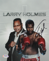 Larry Holmes Signed 8x10 Photo (PSA COA) at PristineAuction.com