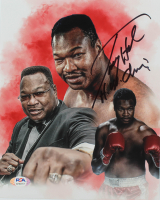 """Larry Holmes Signed 8x10 Photo Inscribed """"H.W. Champ"""" (PSA COA) at PristineAuction.com"""