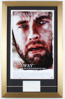 "Tom Hanks Signed ""Cast Away"" 14x22 Custom Framed Cut Display (JSA COA) at PristineAuction.com"