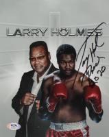 "Larry Holmes Signed 8x10 Photo Inscribed ""Peace 2020"" (PSA COA) at PristineAuction.com"