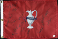 """The Tradition"" Pin Flag Signed By (15) with Jack Nicklaus, Gary Player, Ben Crenshaw (JSA LOA) at PristineAuction.com"