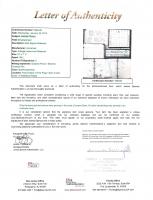 James Dean 2x3.5 Handwritten Sample (JSA Encapsulated & JSA LOA) at PristineAuction.com