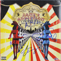 """Jane's Addiction """"Live in NYC"""" Vinyl Record Album Band-Signed by (4) with Perry Farrell, Stephen Perkins, Dave Navarro & Chris Chaney (Beckett LOA) at PristineAuction.com"""