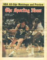 "Pete Maravich Signed 1977 ""The Sporting News"" Newspaper Cover (PSA LOA) at PristineAuction.com"