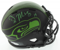 DK Metcalf Signed Seahawks Eclipse Alternate Speed Mini Helmet (Beckett COA) at PristineAuction.com
