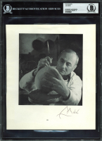 Joan Miro Signed 8x9 Photo (BAS Encapsulated) at PristineAuction.com