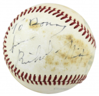 Richard Nixon Signed OAL Baseball (JSA LOA) at PristineAuction.com