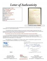 "John Wayne Signed 33x45 Custom Framed Shadowbox Cut Display with Replica Rifle Inscribed ""1968"" (JSA LOA) at PristineAuction.com"
