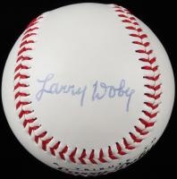 Larry Doby Signed Logo Baseball (PSA LOA) at PristineAuction.com