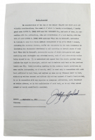 "Judy Garland Signed ""The Bob Hope Show"" Contract (Beckett LOA) at PristineAuction.com"