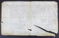 King Louis XIV Signed 1682 Military Promotion Document (Beckett LOA) at PristineAuction.com