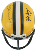 Brett Favre & Reggie White Signed Packers Mini-Helmet (Beckett LOA) at PristineAuction.com