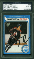 Wayne Gretzky Signed 1979-80 Topps #18 RC (PSA Encapsulated) at PristineAuction.com