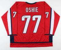 """T. J. Oshie Signed Jersey Inscribed """"2018 SC Champs"""" (JSA COA) at PristineAuction.com"""