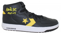 "Magic Johnson Signed Converse Basketball Shoe Inscribed ""HOF 02"" (Beckett COA) at PristineAuction.com"